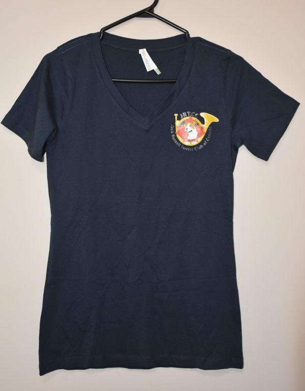T-Shirt V Neck Navy